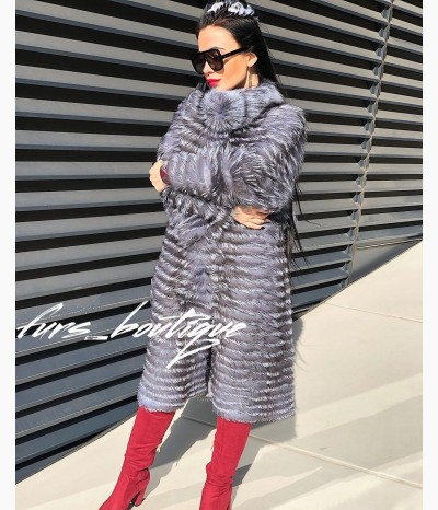 Лиса на кашемире от FURS BOUTIQUE