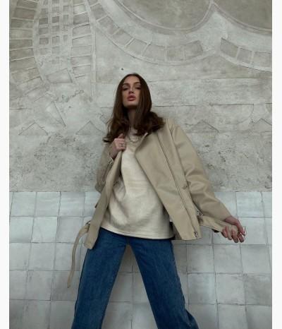 Куртка из эко кожи от БАРХАТ