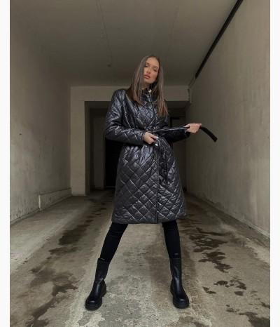 Стёганое пальто от БАРХАТ