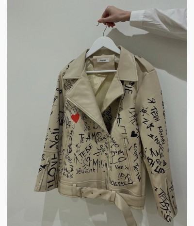 Куртка из экокожи от БАРХАТ