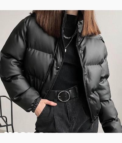 Куртка ЭКО-кожа наполнитель холлофайбер