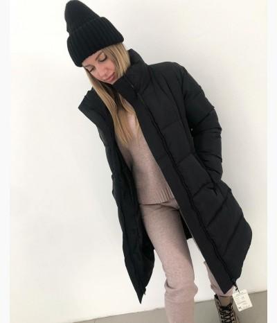 Пуховик длинный зимний
