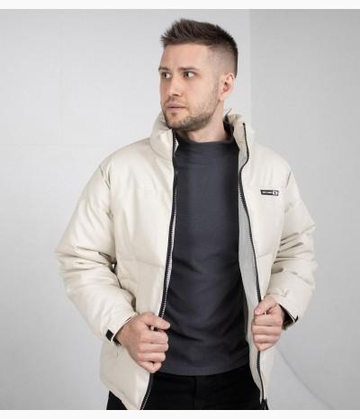Мужская куртка цвета графит