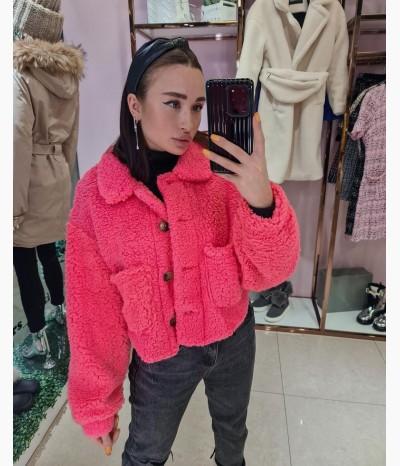 Плюшевая куртка