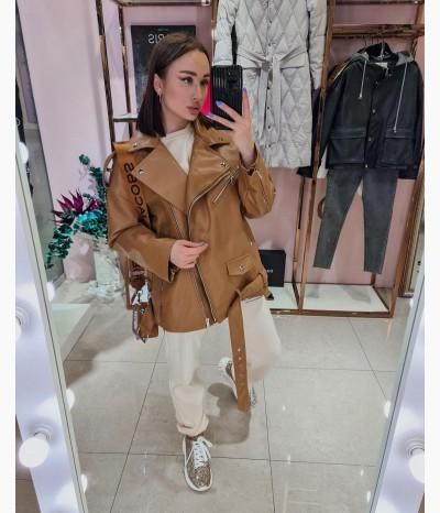 Кожаная куртка от MODIUM.BOUTIQUE