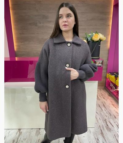 Пальто из шерсти от МОДНАЯ ЛИНИЯ