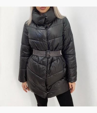 Демисезонные Куртки с декоративным поясом