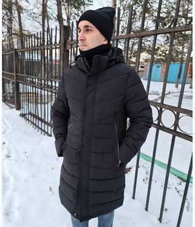 Мужской пуховик зимний