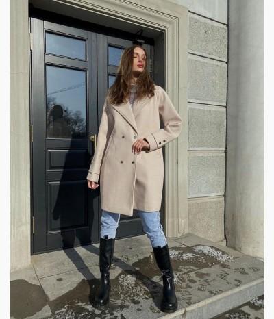 Пальто демисезонное от БАРХАТ