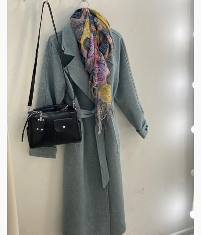 Длинное пальто от PUDRA.KHV
