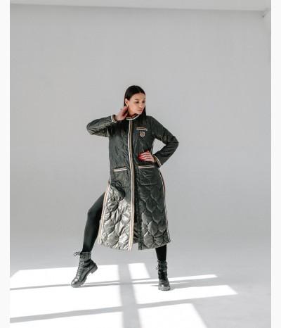 Демисезонное пальто от SEVERINA FURS