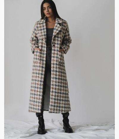 Пальто в клетку от STUDIO SHOWROOM KHV