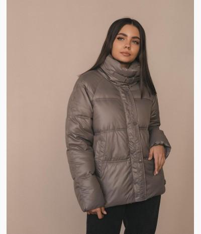 Теплая куртка на холлофайбере