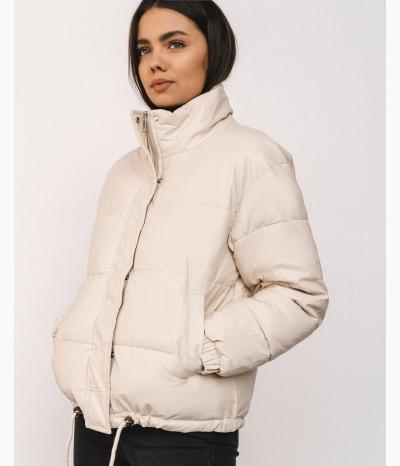 Куртка из эко-кожи на весну