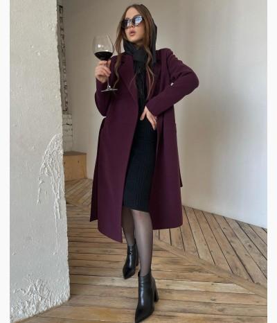 Пальто из шерсти от VESHALKA