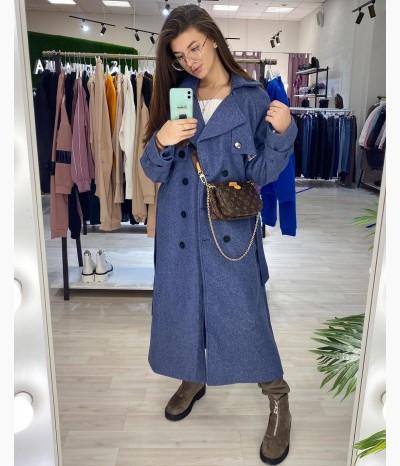 Шикарное пальто демисезонное