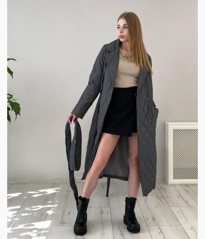 Шикарная куртка-пальто