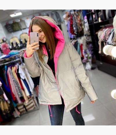Куртка двухсторонняя светоотражающая от ZERKALO
